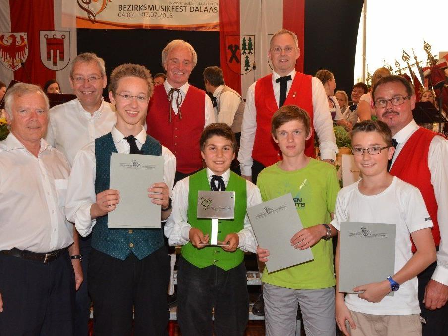 Ausgezeichneter Erfolg für die Jungen Burschen der MMS-Brass.