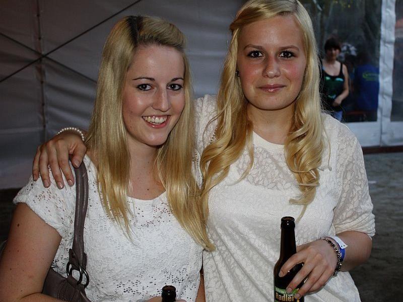 Charmante Besucher beim Landesfeuerwehrfest in Doren.