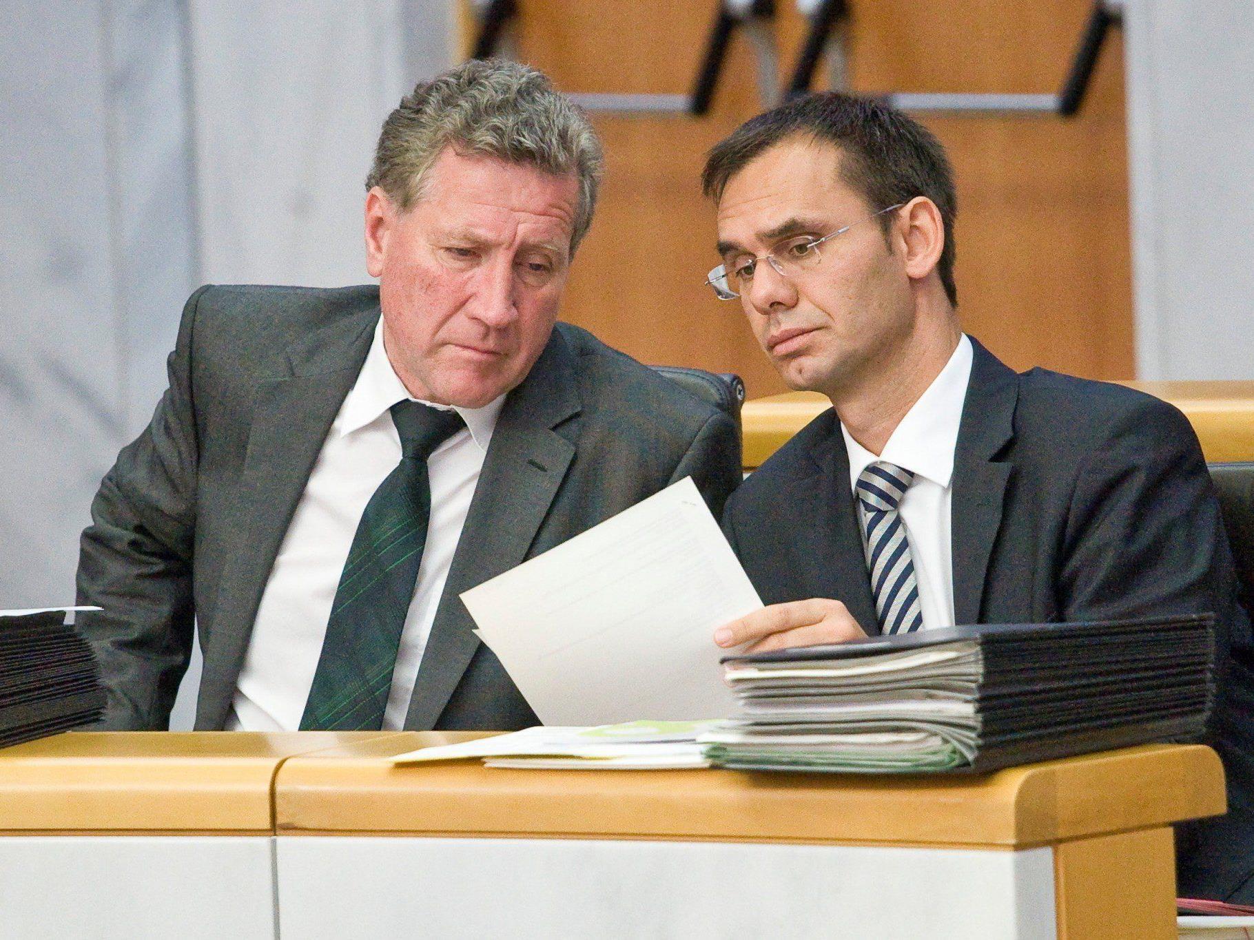 LH Wallner und LR Schwärzler: Wichtige Unterstützung für örtliche Infrastruktur.