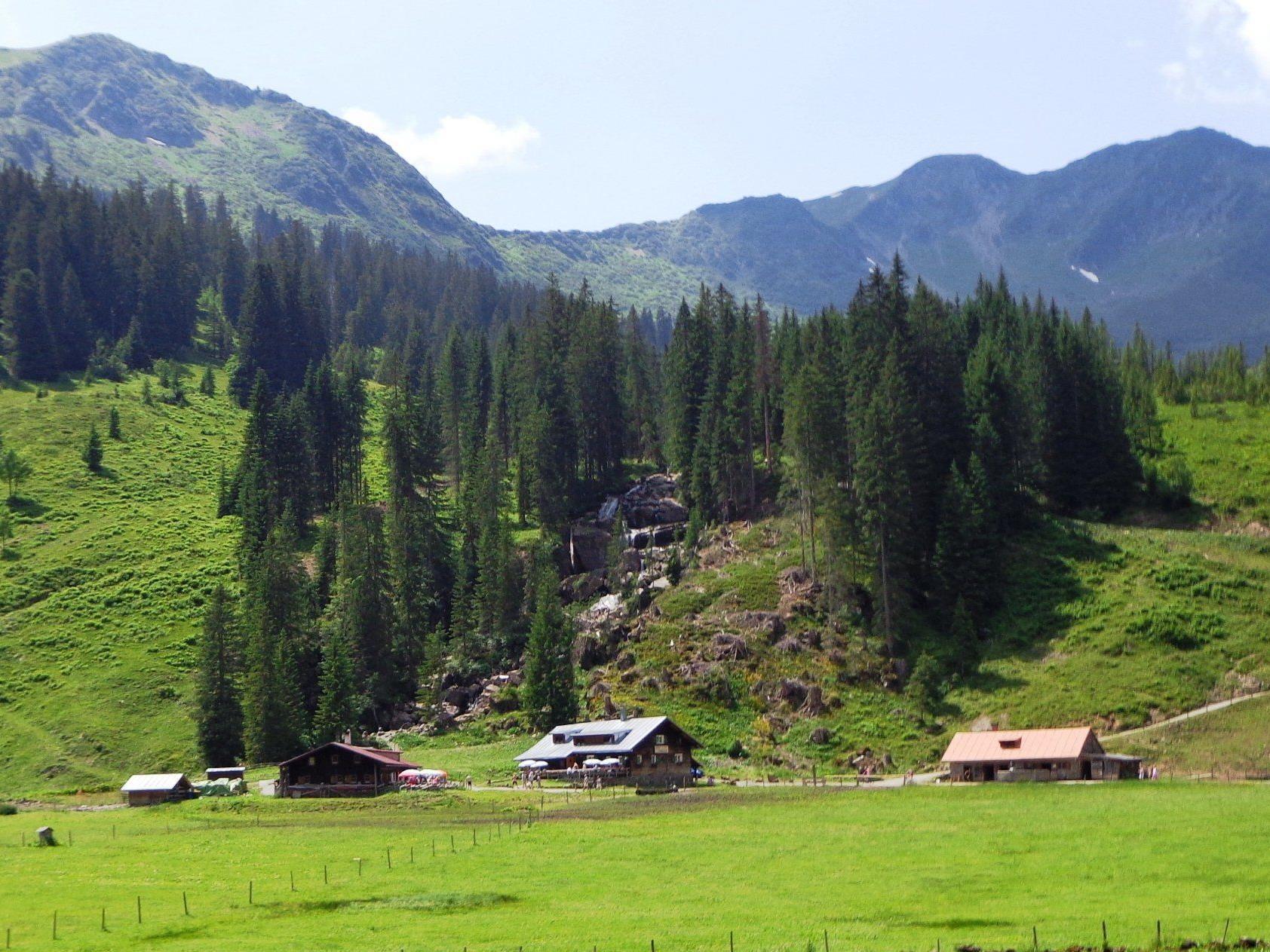 Alpe Melköde, Hirschegg