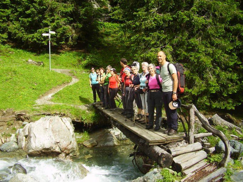 Bludescher Alpe Valzifenz/Gargellen lädt zur Alpmesse.