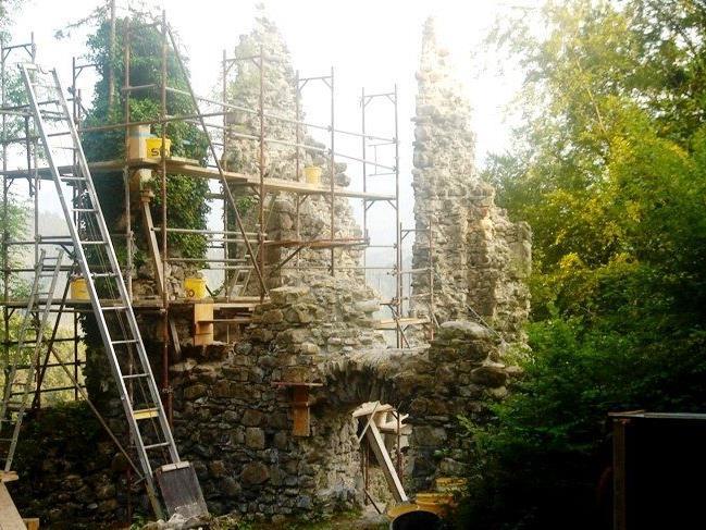 Am 29.September 2013 wird die Ruine für alle Interessierten geöffnet.