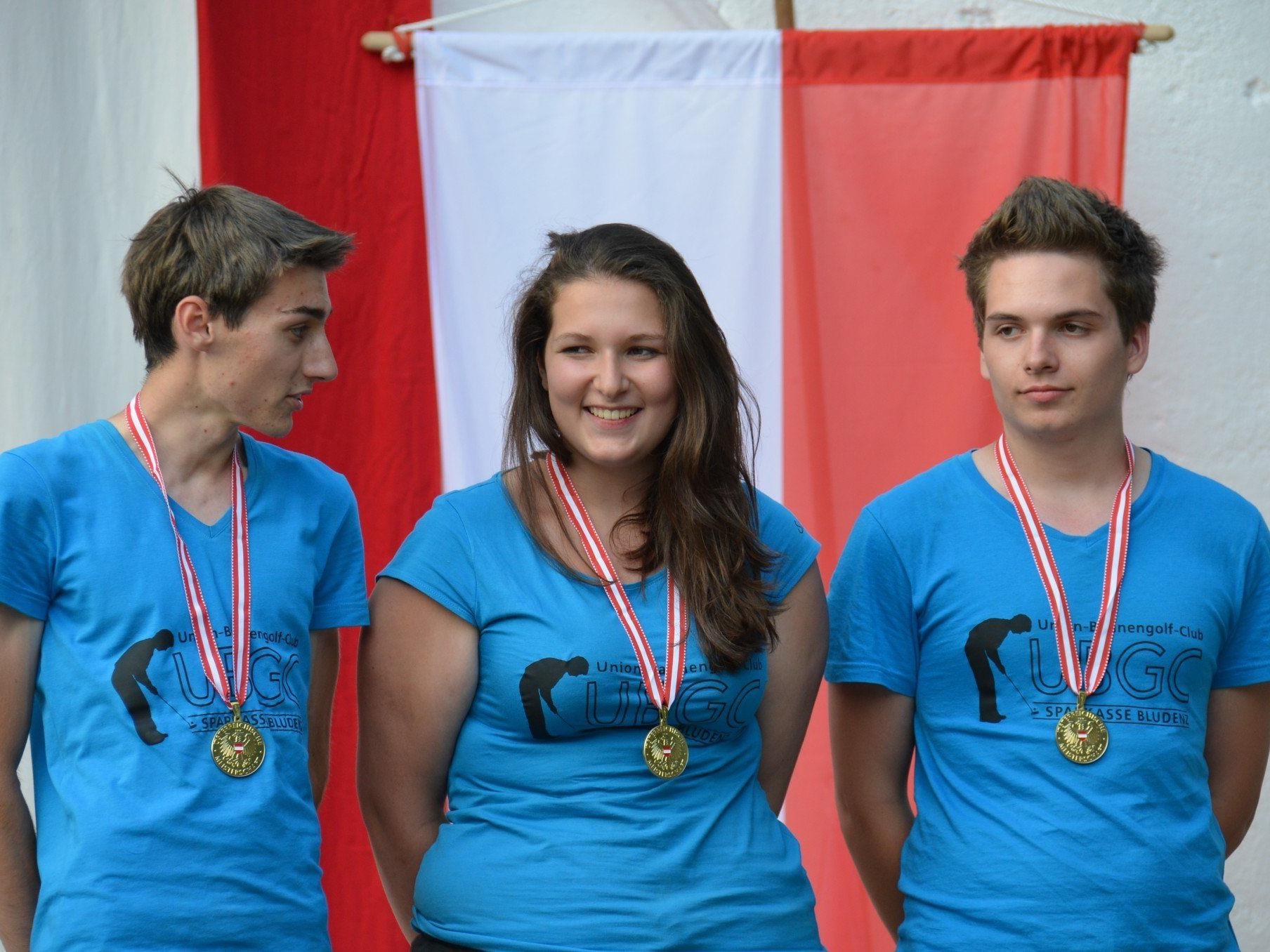 Auf Goldkurs bei den Jugendmeisterschaften in Wiener Neustadt.