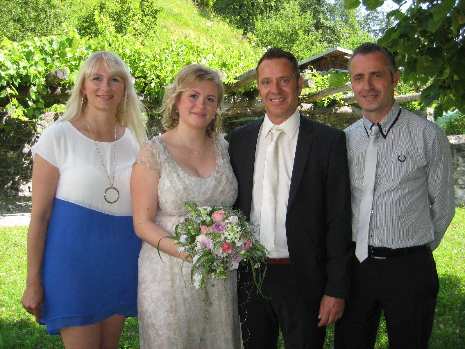 Sabine Smiczek und Dietmar Bolzon haben geheiratet.