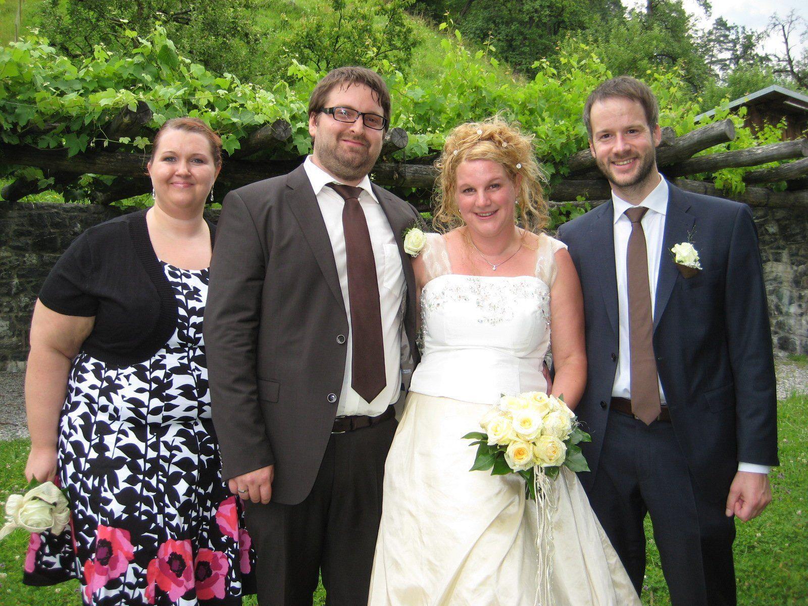 Maria Brugger und Alexander Zangerl haben geheiratet.