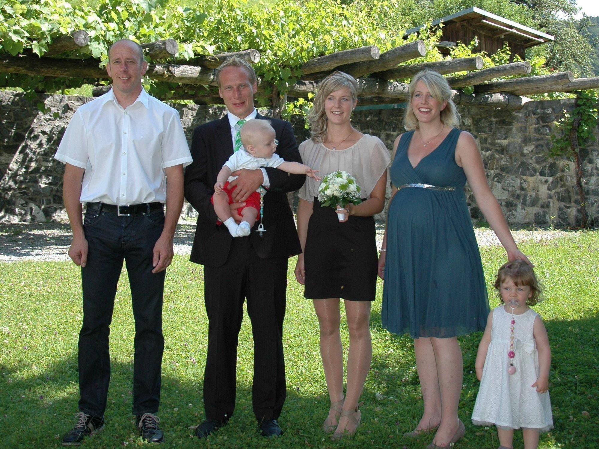 Katharina Mathis und Christian Summer haben geheiratet.