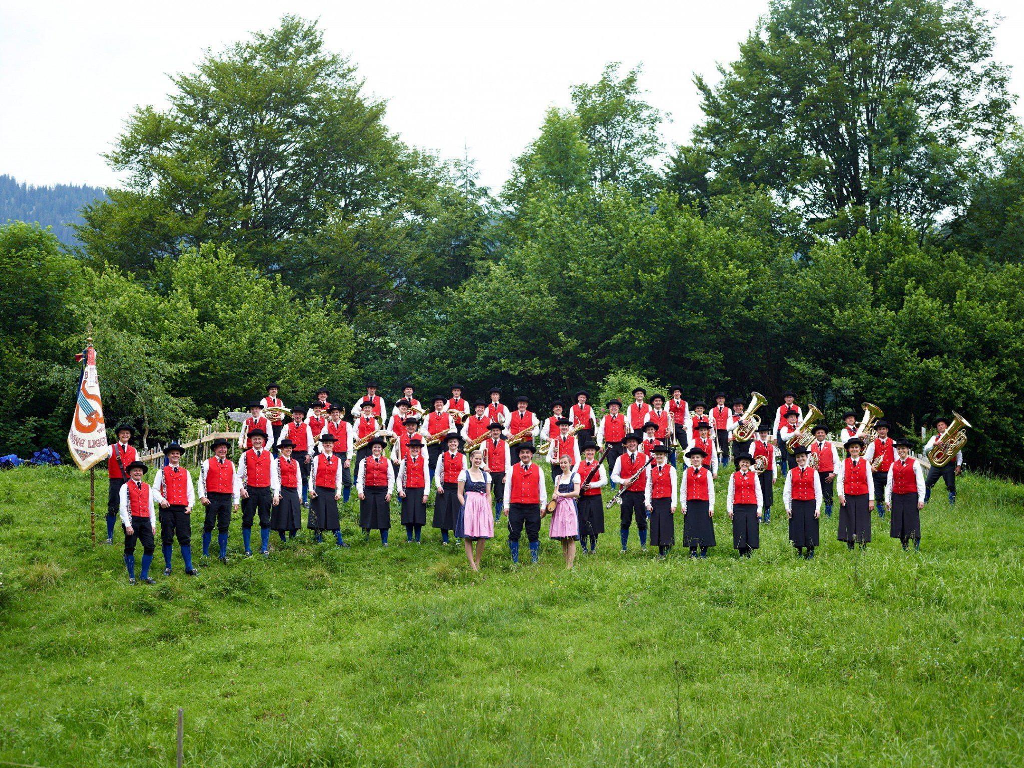 Die Musikanten der Bürgermusik Au freuen sich auf vier unvergessliche Tage