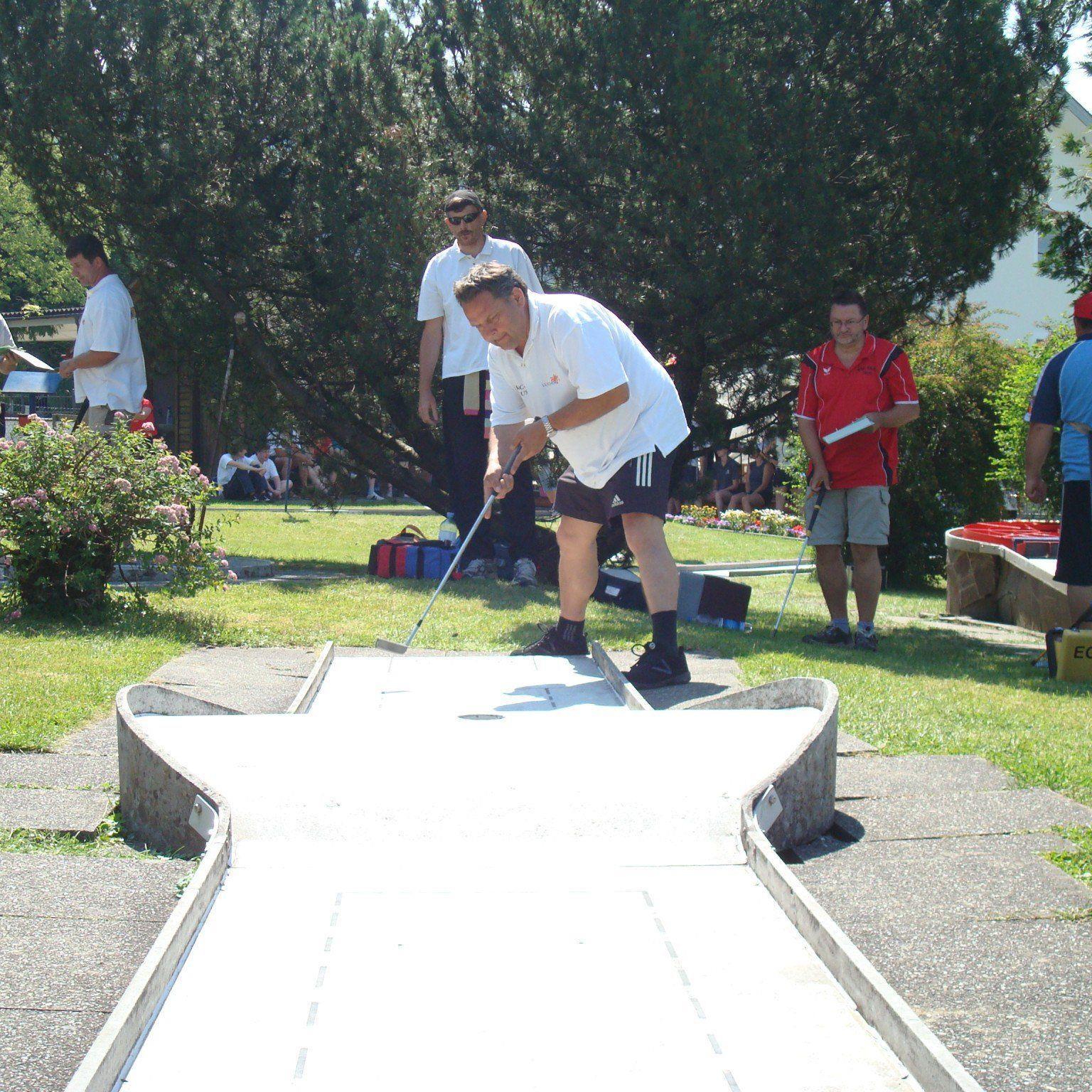 Ferdl Jagschitz siegte beim Heimturnier in Klaus.