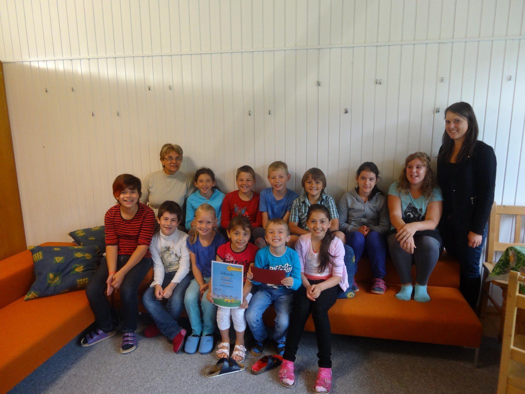Die Bersbucher Volksschüler überzeugten mit ihrem gelungenen Projekt.