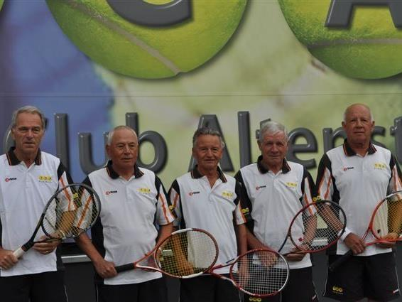 Die Herren vom TC Altenstadt wurden mit fünf Siegen und keiner Niederlage überlegener Landesmeister.