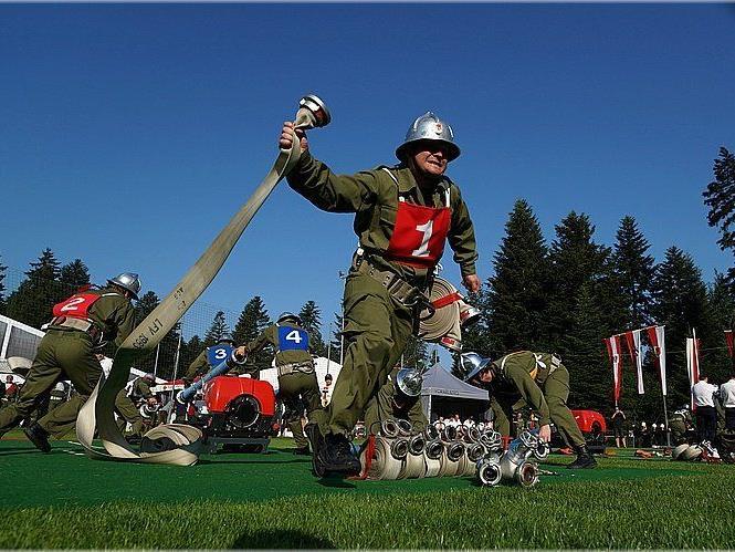 Fotos - Feuerwehrwettbewerb in Doren