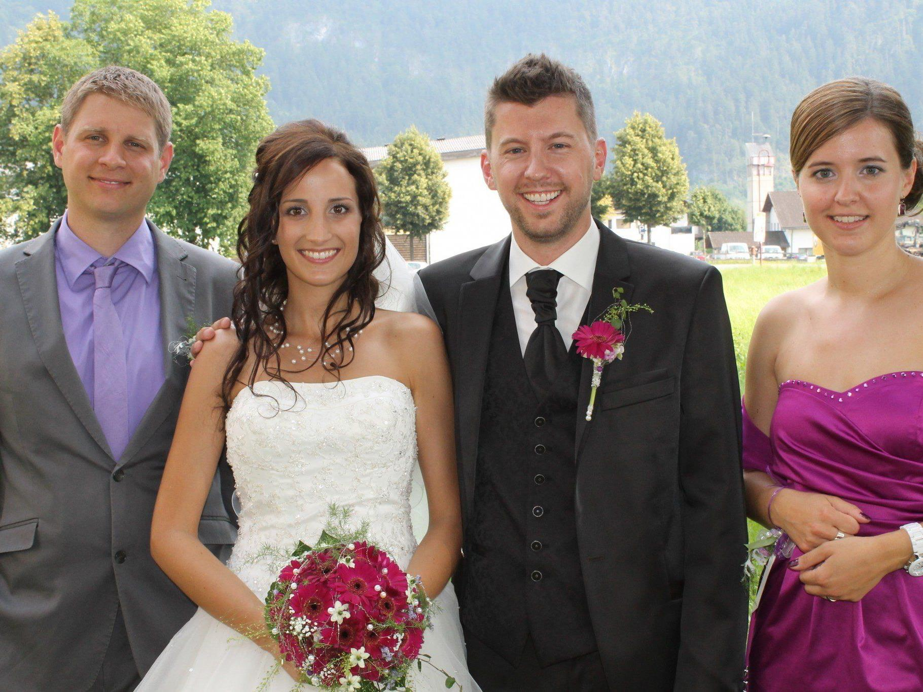 Nadine Schnetzer und Joaachim Schwald haben geheiratet