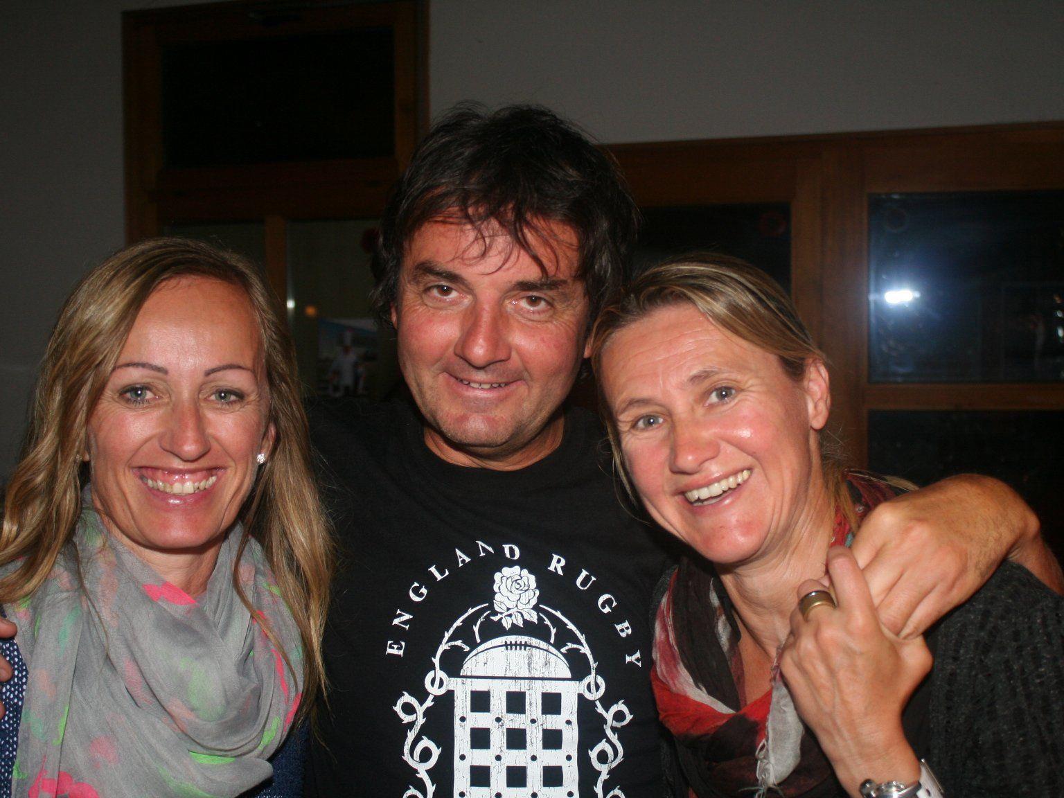 Sabine, Sigi und Andrea hatten Spaß