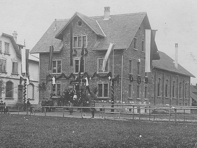 Das alte Vereinshaus in Lauterach.