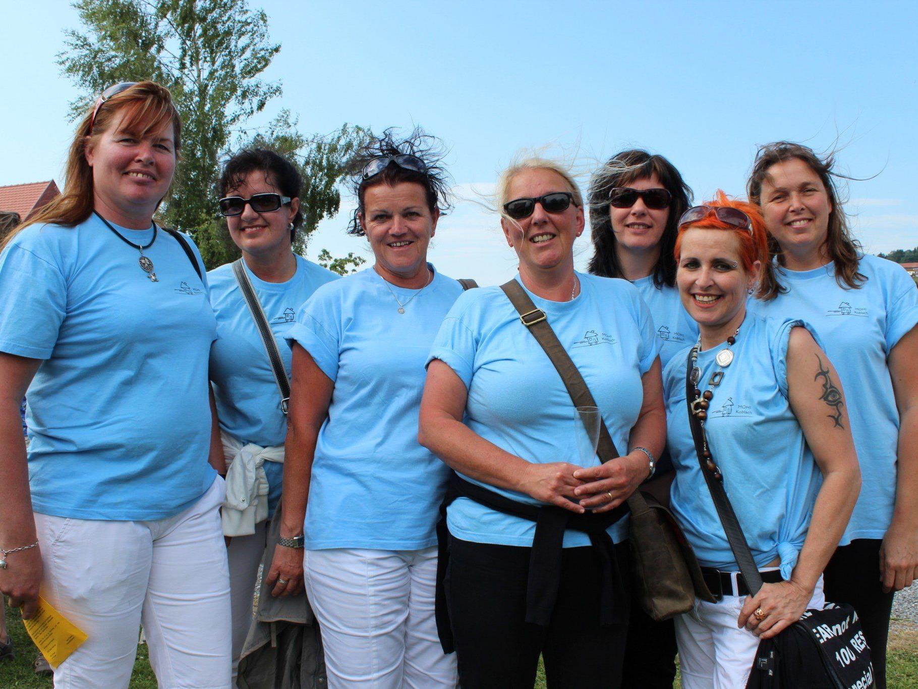 Helferinnen des MOHI Koblach beim HelferInnen-Treffen.