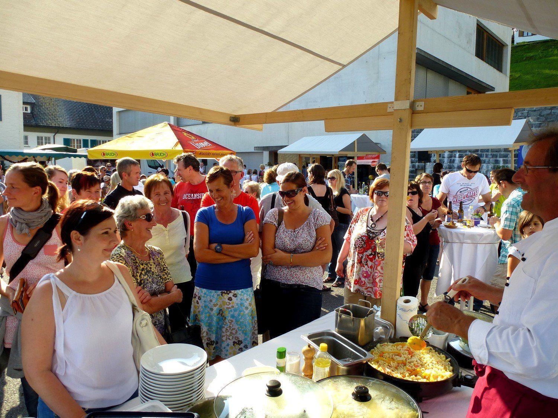 Genussvolle Stunden auf dem Dorfplatz in Doren am 9. August ab 17 Uhr.