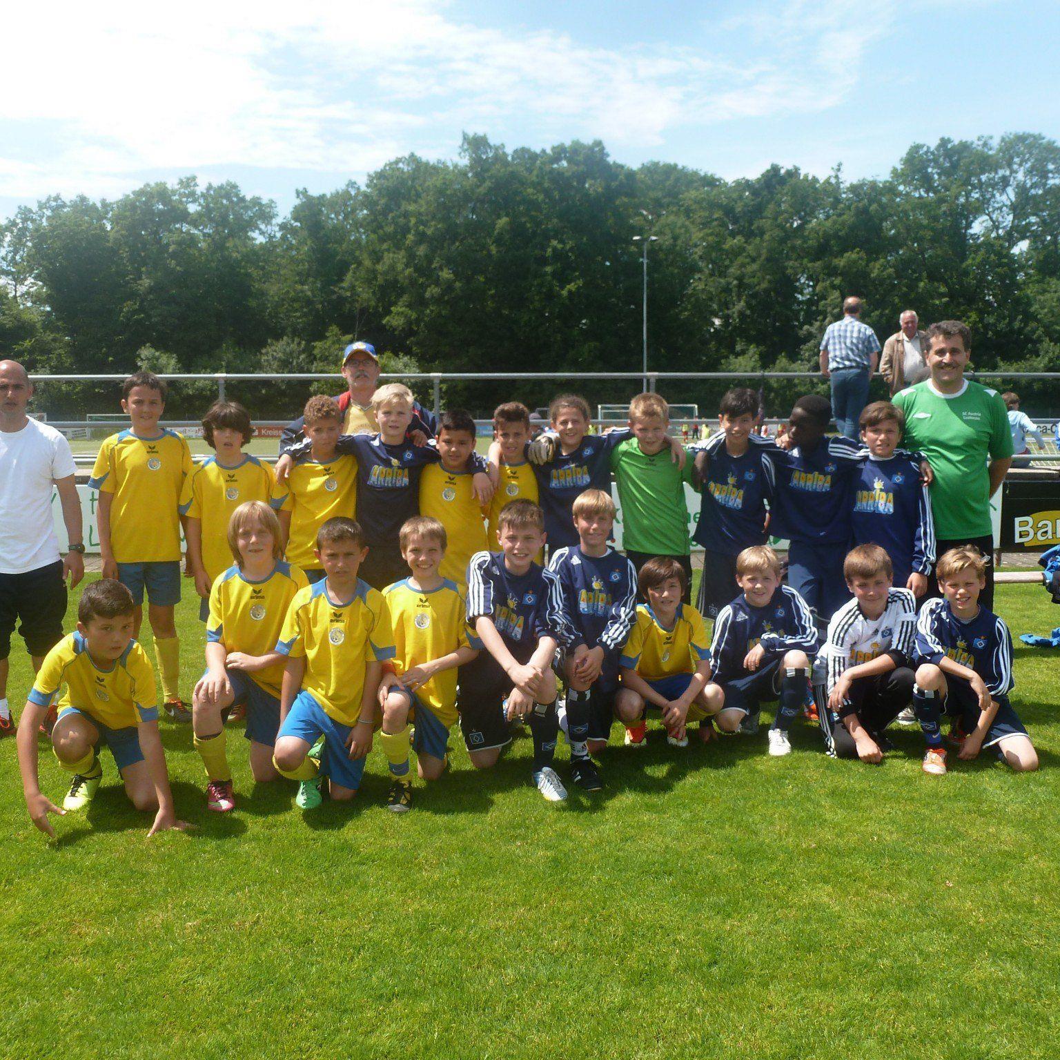 Bei zwei Turnieren in Deutschland sammelte die VfB-Nachwuchsabteilung internationale Erfahrung.