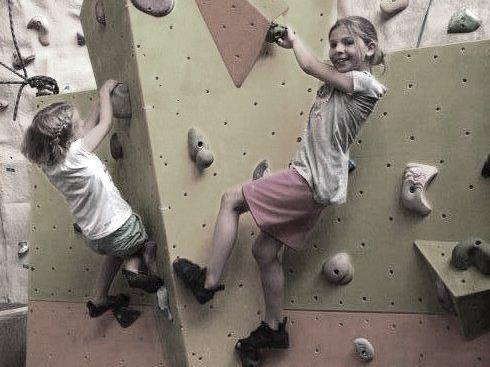 Kinder und Klettern :-)