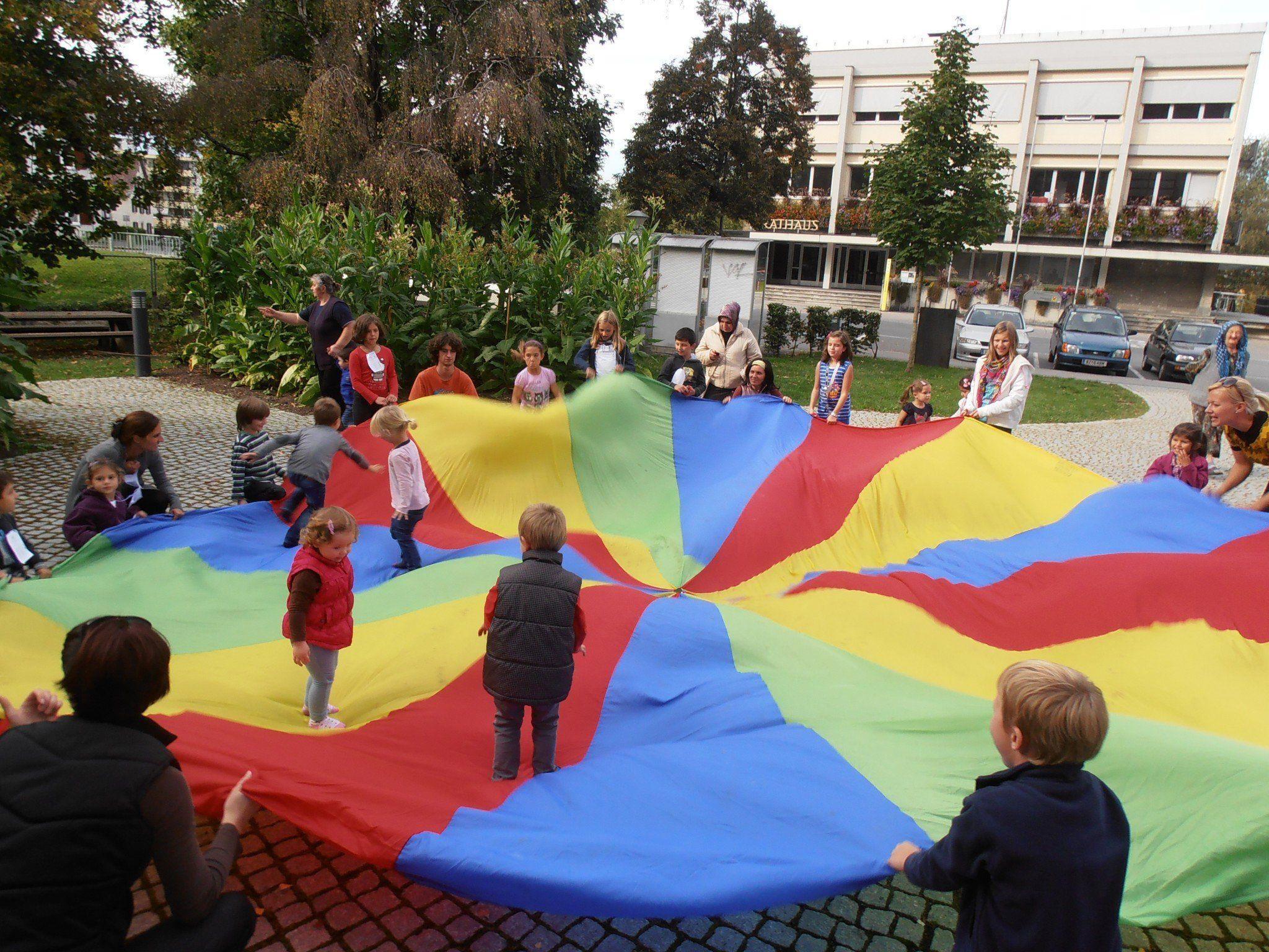 Spiel und Spaß im Gemeindepark