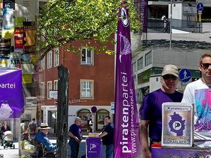 Piratenpartei Vorarlberg sammelt Unterstützungserklärungen