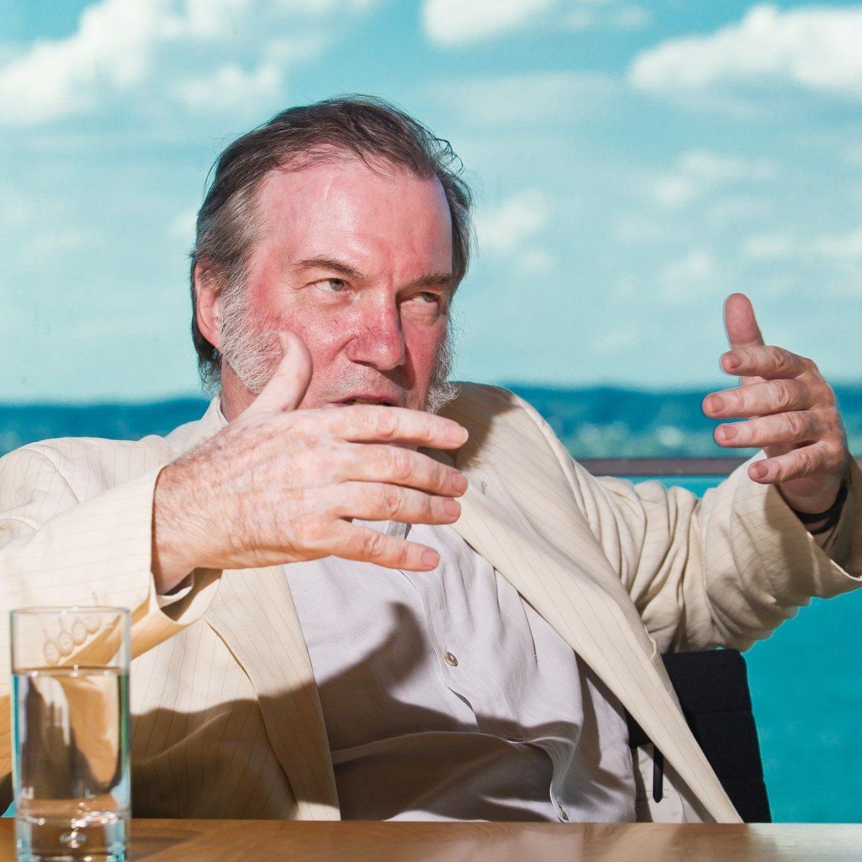 """""""Habe von den Bregenzer Festspielen unglaubliche wunderbare Unterstützung erfahren"""" - David Pountney."""