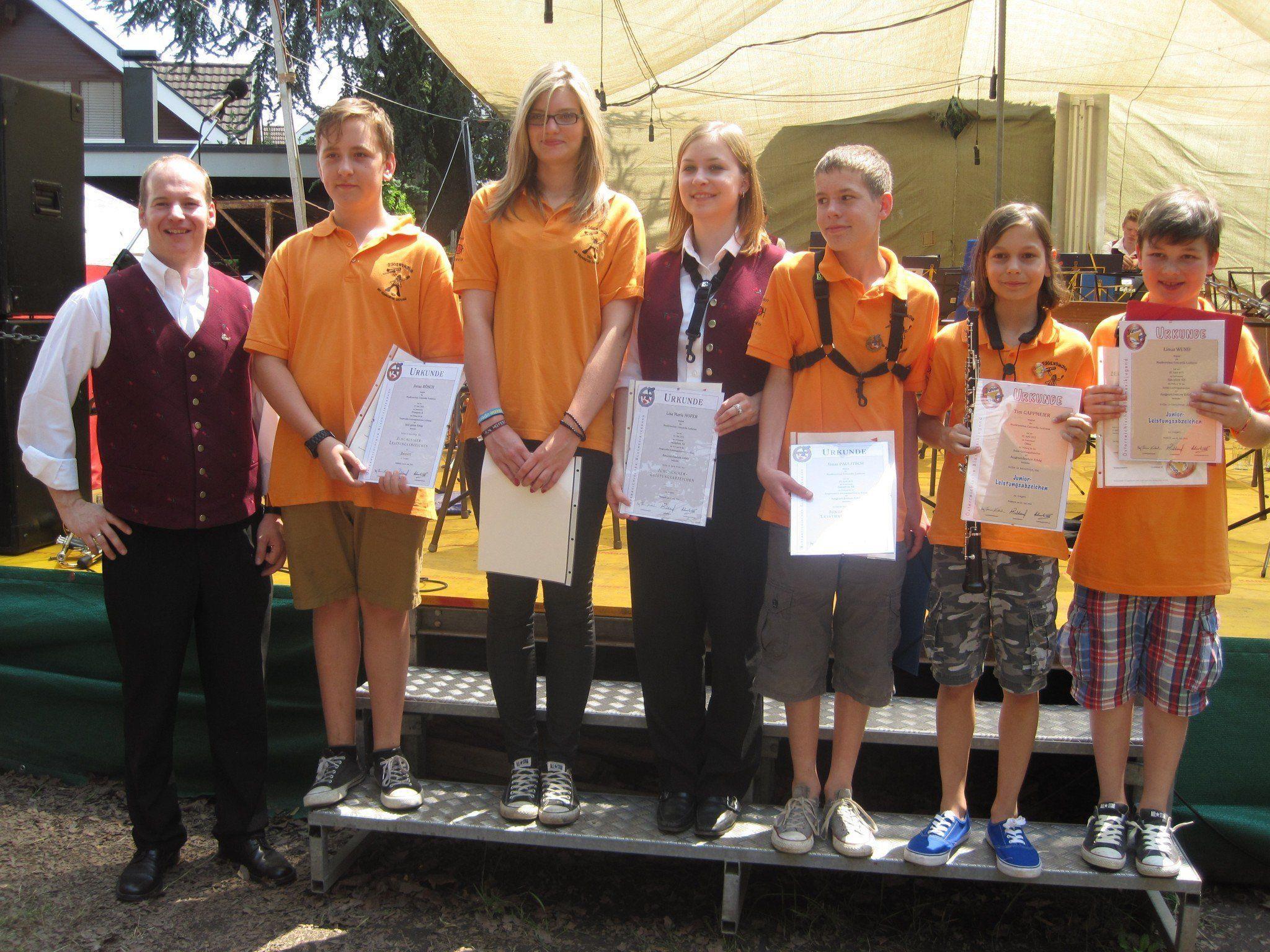 Jungmusikanten des MV Concordia wurden ausgezeichnet