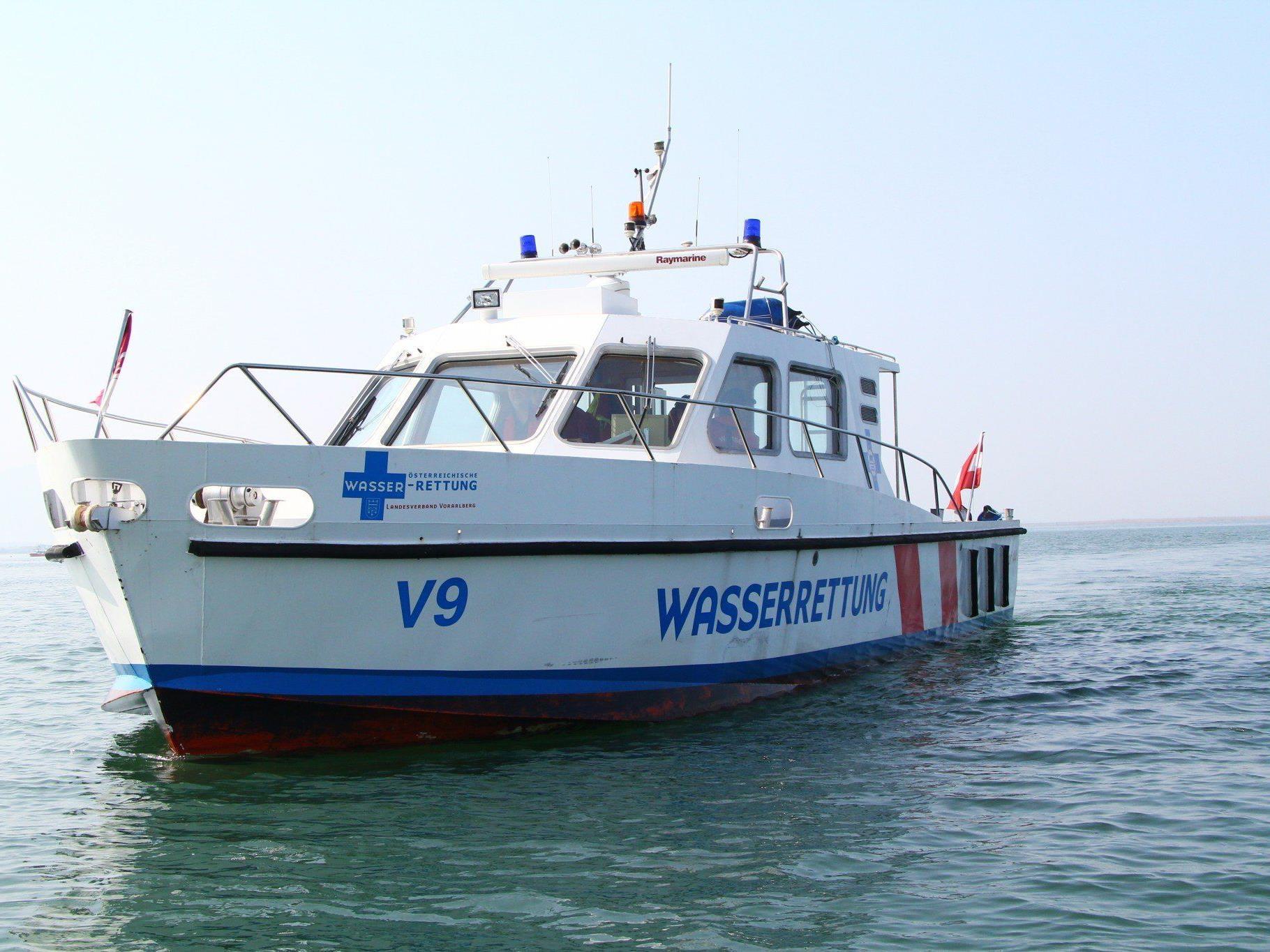 Bei den Einsätzen der Wasserrettung am Sonntag blieben alle in Seenot geratenen Personen unverletzt (Symbolbild).