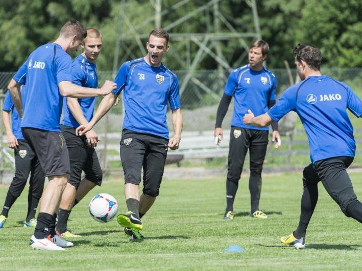 Das Ziel der Altach ist klar: Aufstieg in die Bundesliga