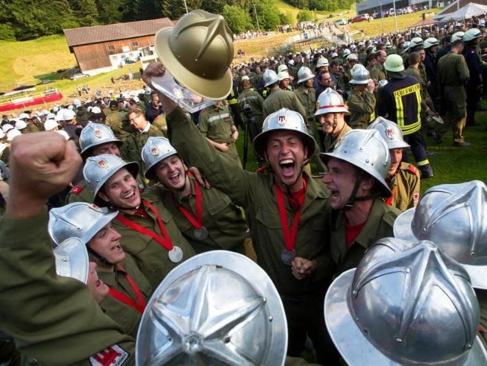 Schnifner Feuerwehr freute sich über den Tagessieg