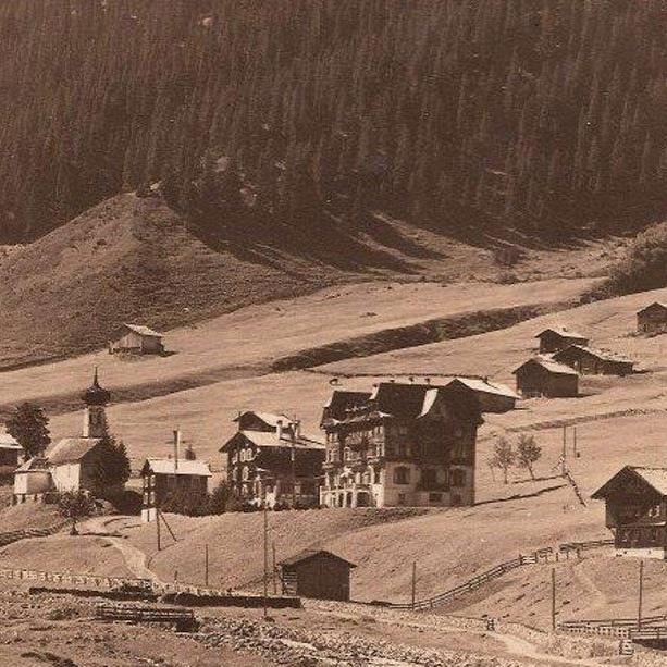 Gargellen um 1930. (Eingesendet von Ing. Horst Hefel)