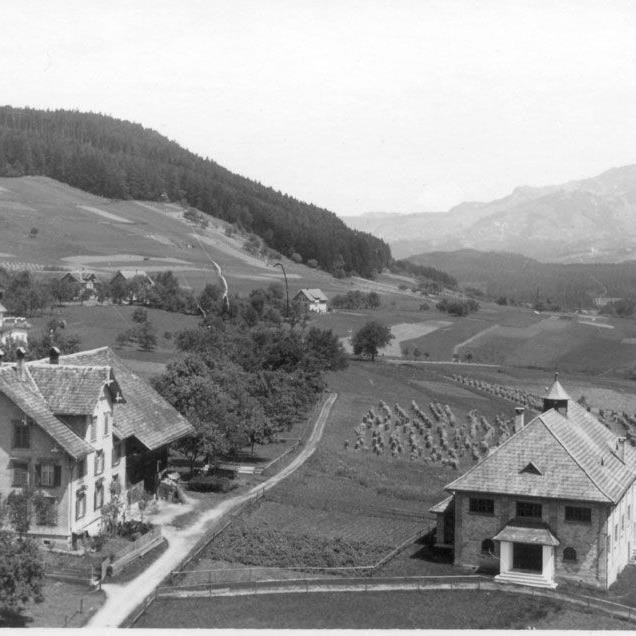 Das Vereinshaus in Göfis wurde 1928 von der damaligen Jünglings- und Männerkongregation gebaut. (Bild: vereinshaus-goefis.at)