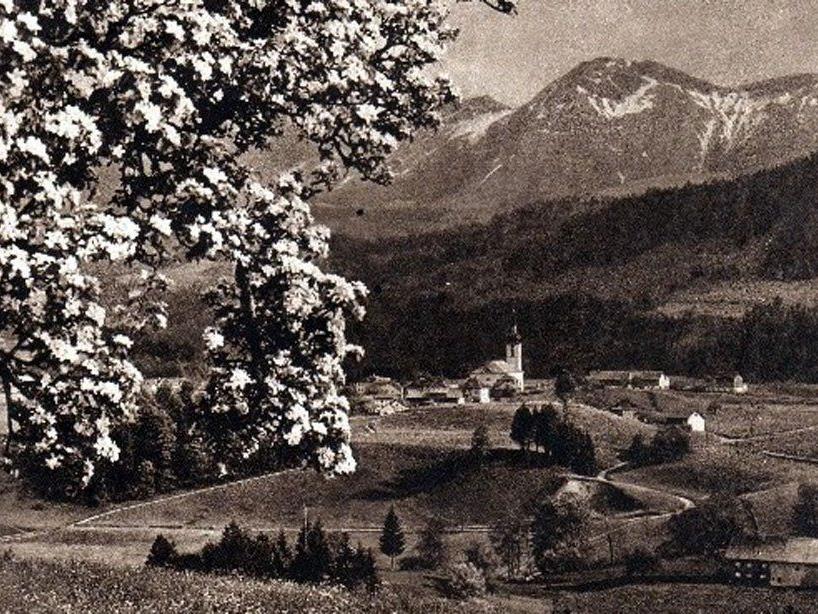 Hittisau um 1920. (Eingesendet von Kurt Vergut)