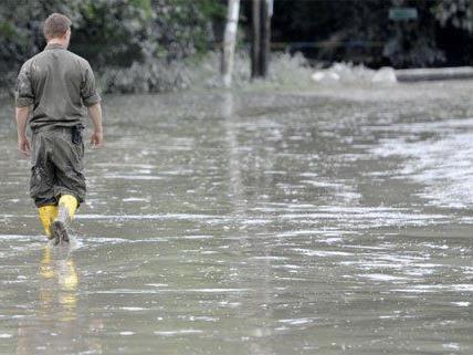 Die Hochwasserkatastophe im Juni betraf ganz Österreich.