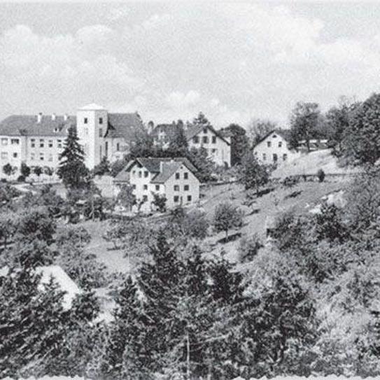 Historische Aufnahme des Jagdbergs bei Schlins.