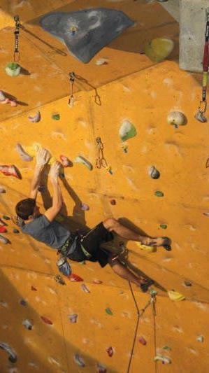 Der Dornbirner Lukas Köb hatte Pech im Kletterweltcup