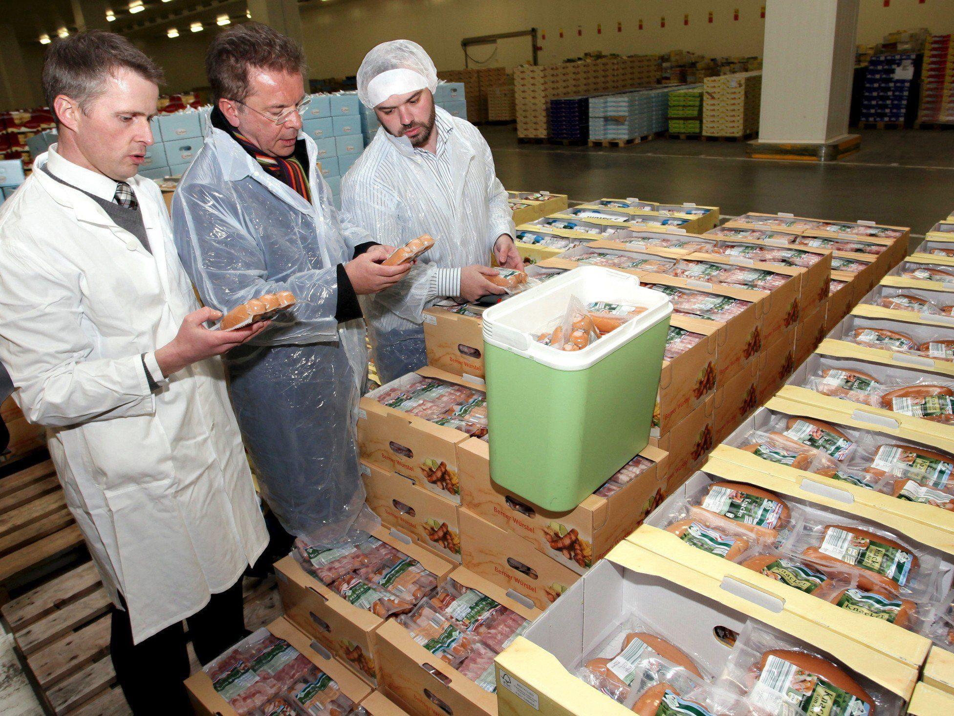 """Lebensmittelaufsicht - Rechnungshof: Datenlage """"mangelhaft"""""""