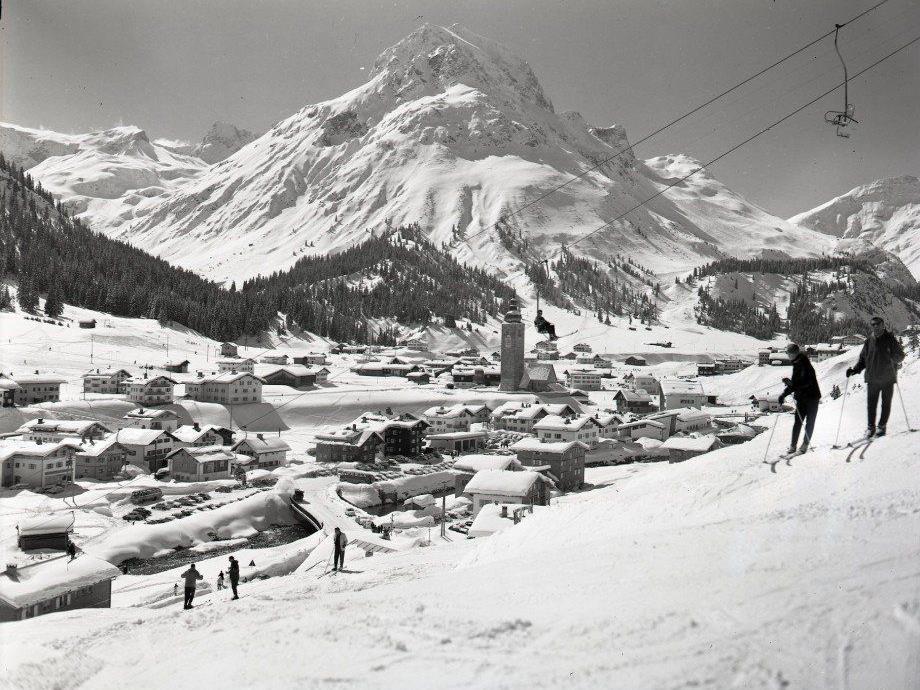 Ein nostalgischer Blick auf Lech.