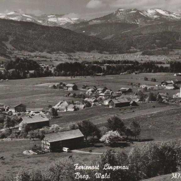 Lingenau im Jahre 1967, eingesendet von Georg Faißt.
