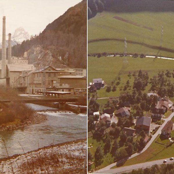 Lorüns um 1970, eingesendet von Hermann Huber.