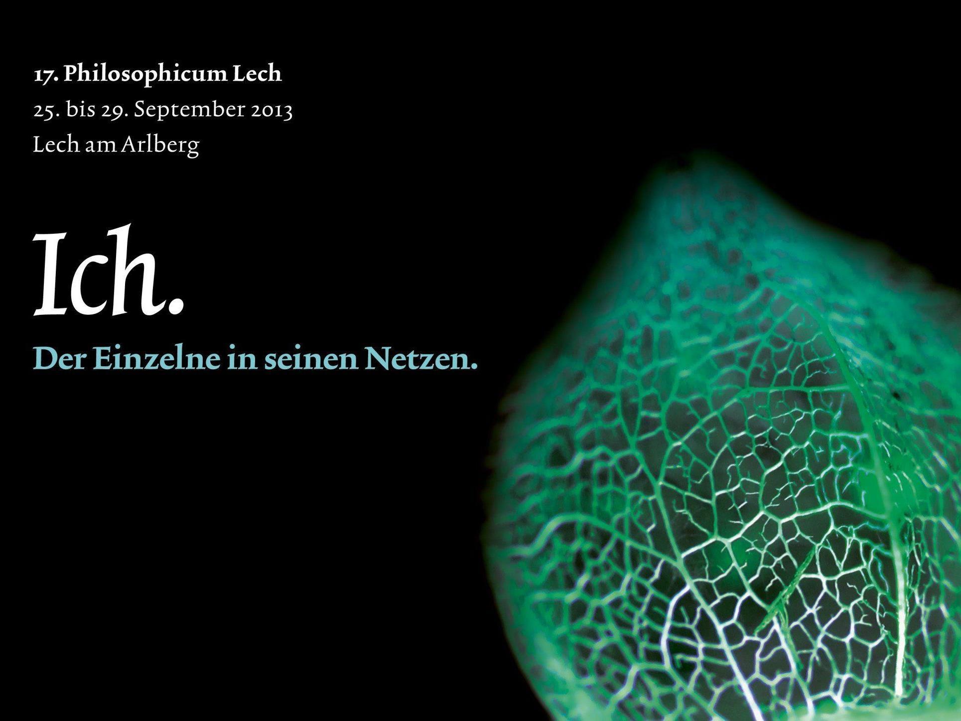 Hochkarätige philosophische Tage im September in Lech.