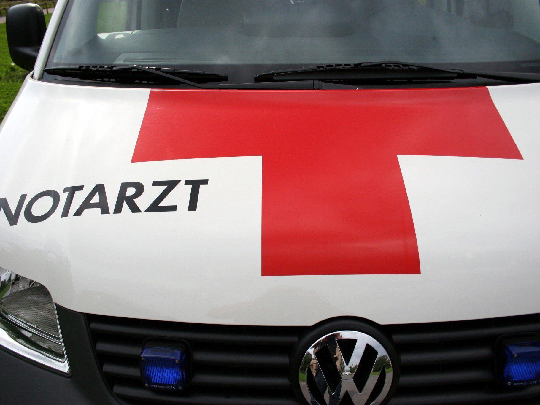 Vorarlberger bei Arbeitsunfall verletzt.