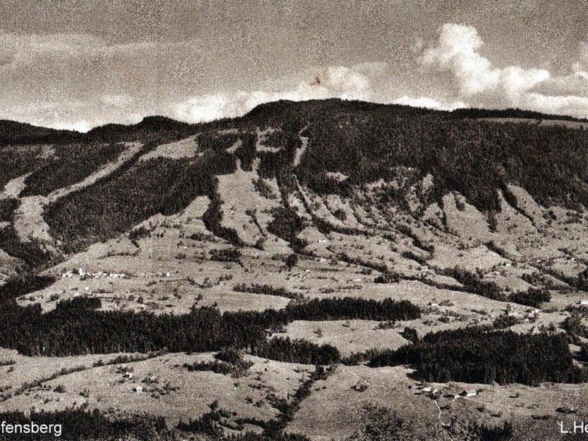 Riefensberg um 1920. (Eingesendet von Kurt Vergut)