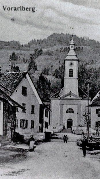 Kirchstraße (Norden - um 1900) - Inderstadt, Kirchplatz und Kirchstraße.