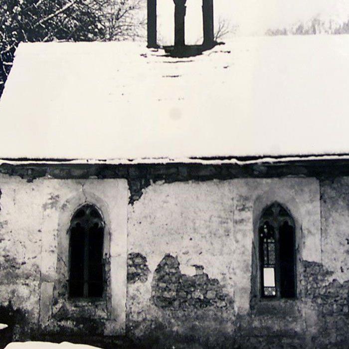 Propstei St. Gerold in vergangenen Tagen. (Wirth)