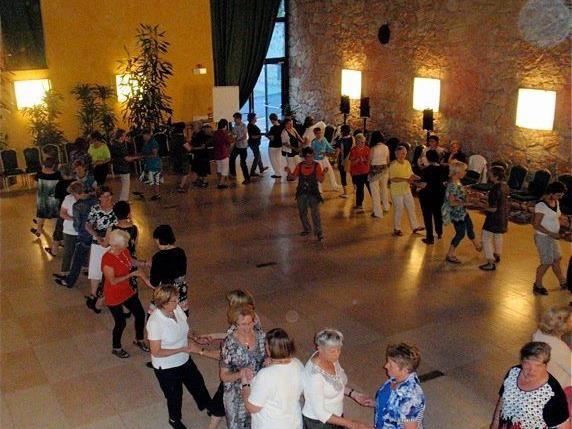 """VBG Tanzgruppe. """"tanzen ab der Lebensmitte"""""""" in Garda Hotel Poiano"""