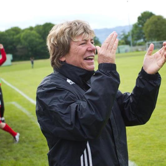 Andrea Adlassnigg wird neue Frauen-Trainerin von Rankweil 1b und kümmert sich um die sportlichen Belange.