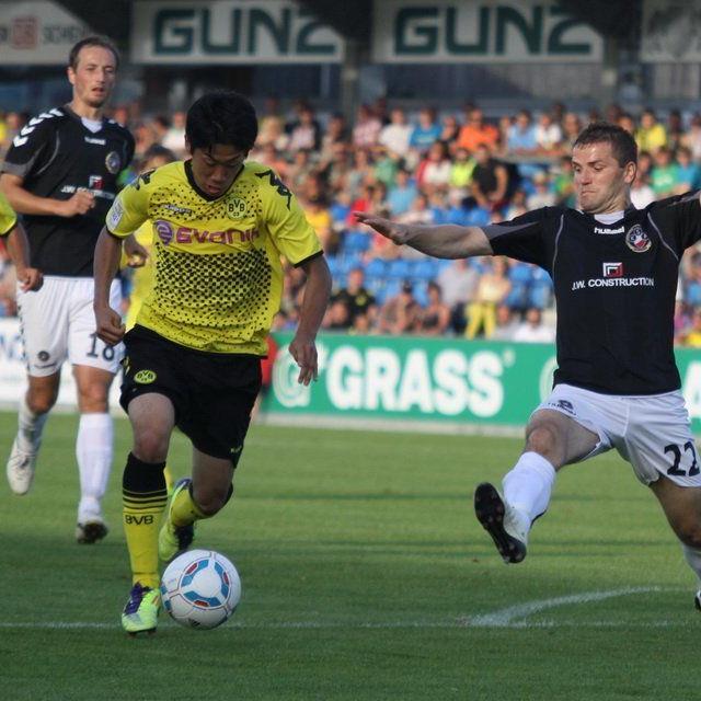 CL-Finalist Dortmund trifft am Samstag in Altach auf den türkischen Spitzenklub Bursaspor.
