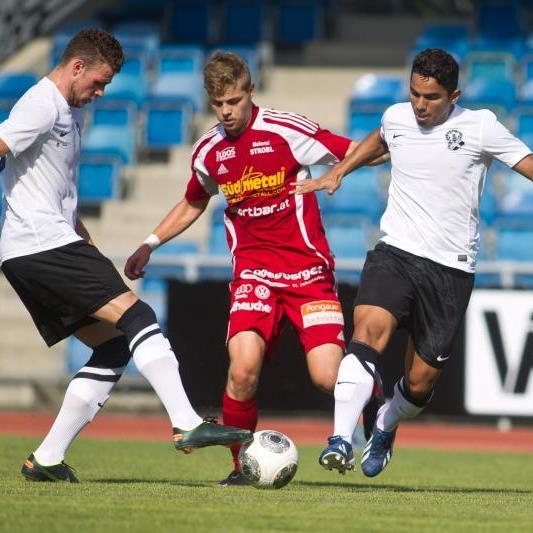 Deniz Mujic gelang in der Schlussphase ein Doppelpack und Bregenz gewann endlich gegen Pongau.