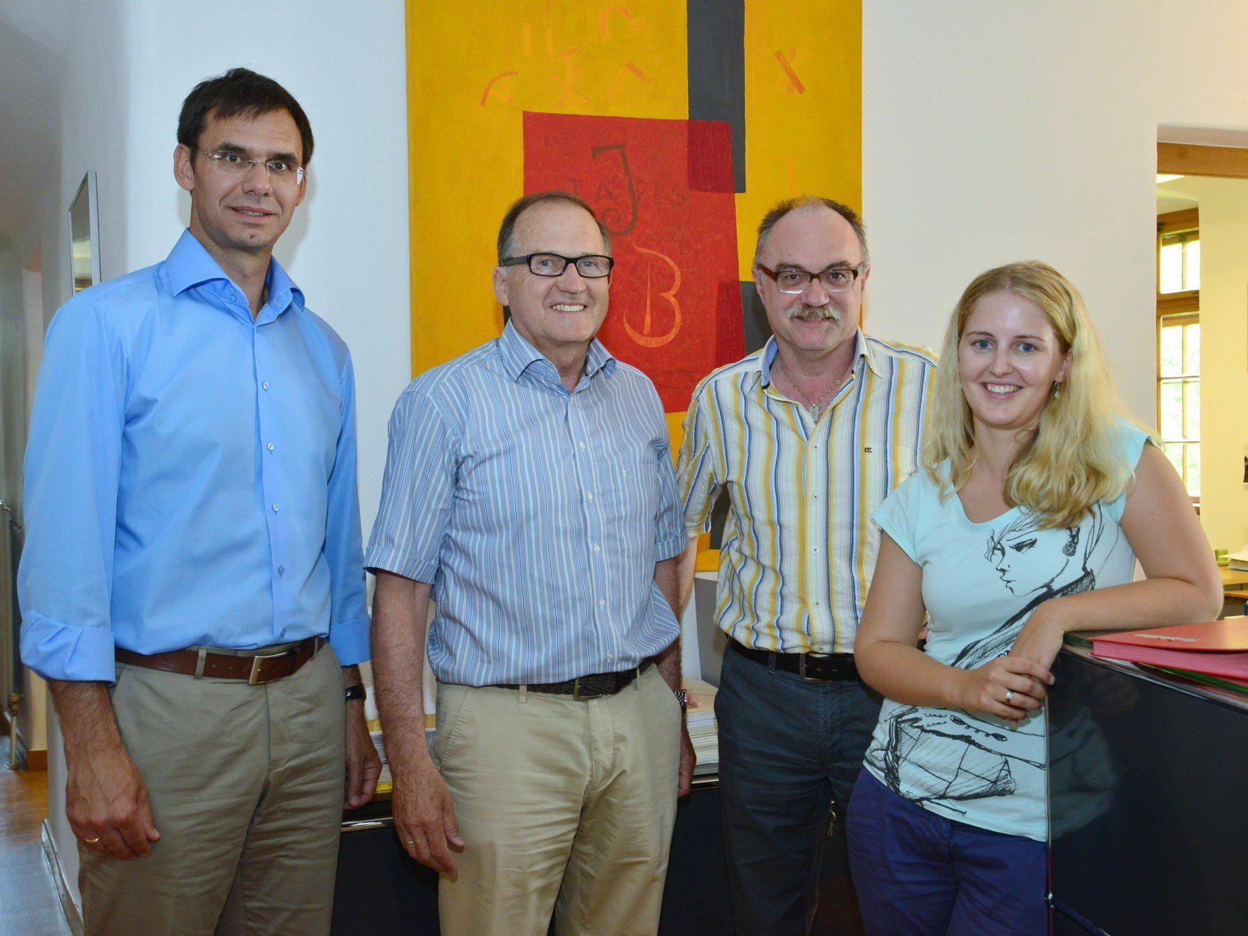 LH Wallner zu Besuch im Vorderland: Das Gemeindeamt von Sulz ist Sitz der Baurechtsverwaltung für insgesamt zwölf Gemeinden des Vorderlandes.