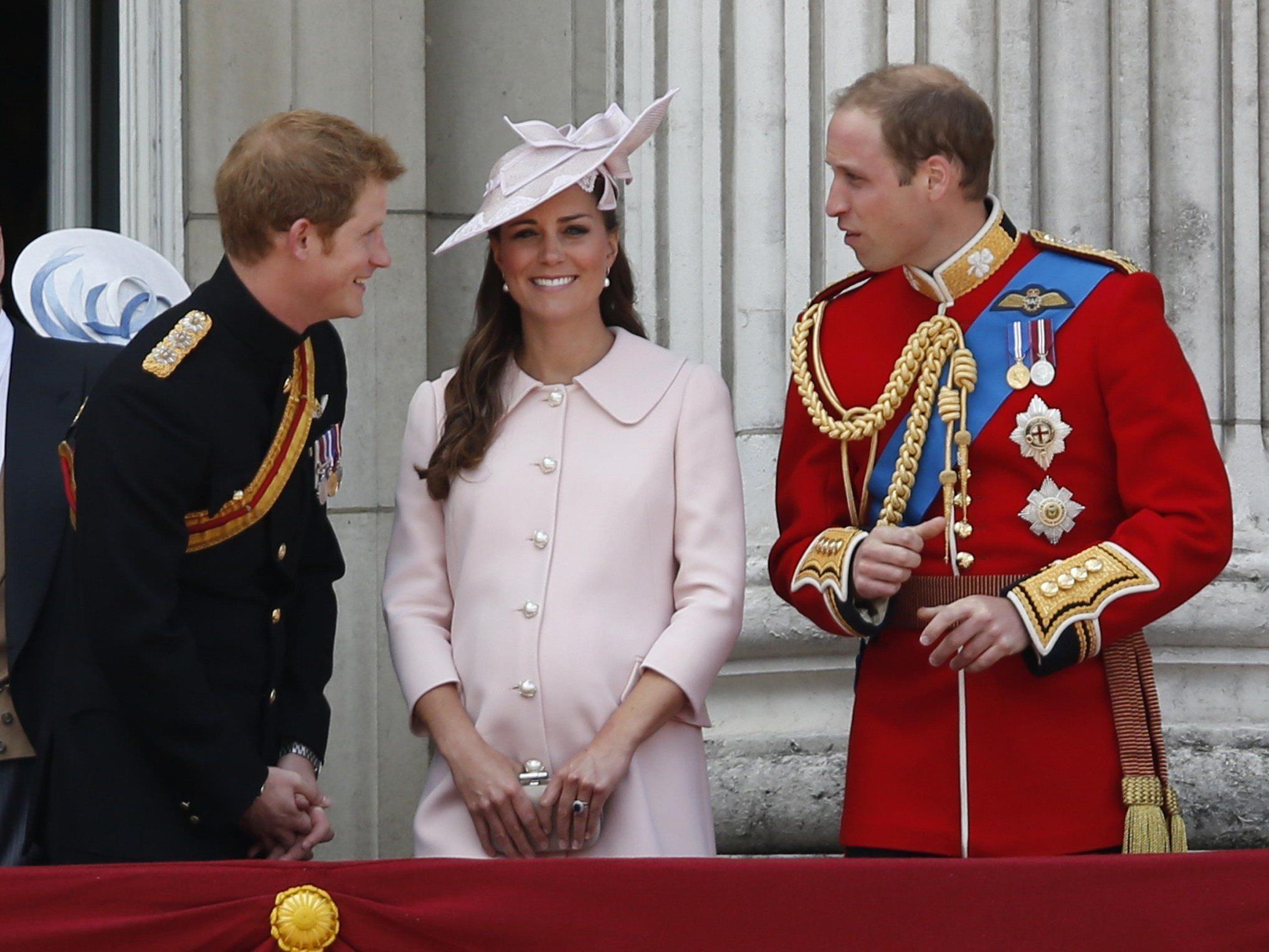Großbritannien fiebert der Geburt des Babys von William und Kate entgegen